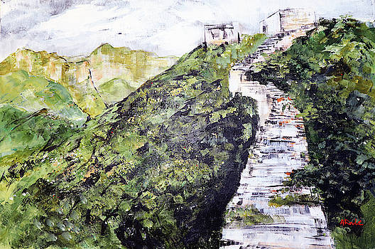 Great Wall 3 201846 by Alyse Radenovic