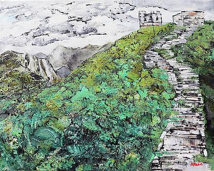Great Wall of China 201839 by Alyse Radenovic