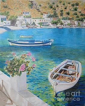 Greek Bay by Glenda Zuckerman