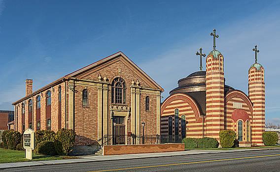 Greek Orthodox Church by David Sams