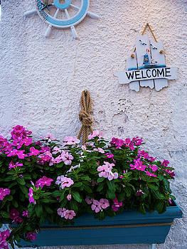 Greek Welcome by Rae Tucker