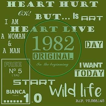 Green 1982 Original by Alberto RuiZ