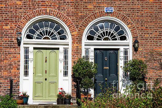 Bob Phillips - Green and Black Dublin Doors