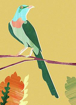 Green Bird by Goed Blauw