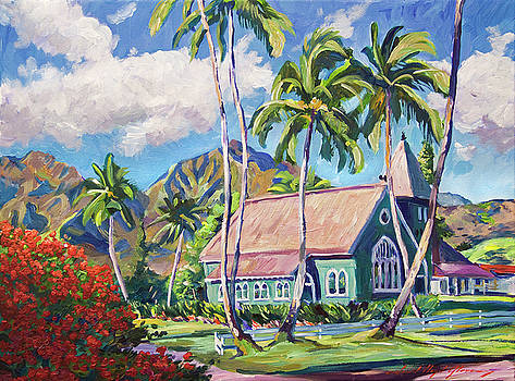 Green Church Kauai by David Lloyd Glover