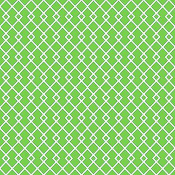 Green Diamond Pattern by Ross