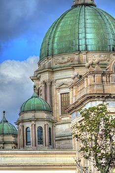Green Dome's of Italy by Bill Hamilton
