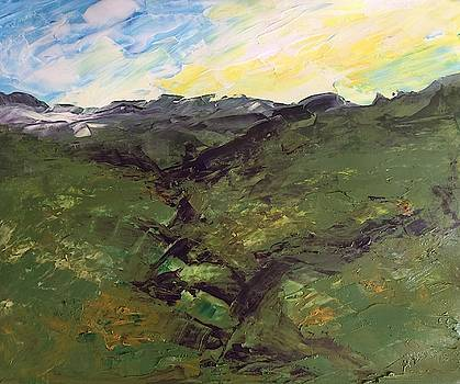 Green hills by Norma Duch