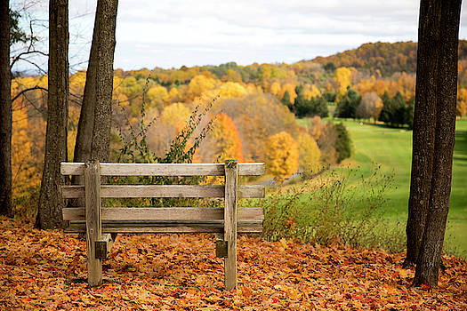 Green Lakes Fall by David Stasiak