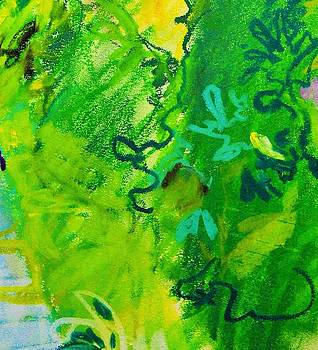 Green Leaves by Aletha Kuschan