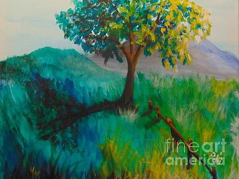 Green Pastures by Saundra Johnson