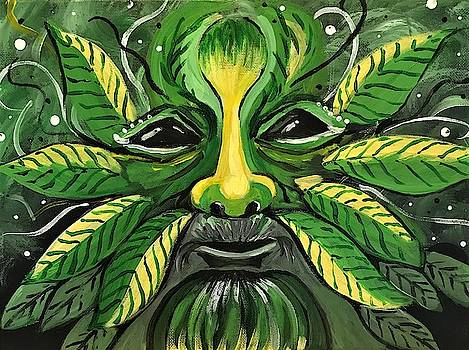 Green Man by Roseann Amaranto