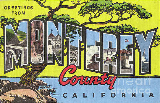 California Views Archives Mr Pat Hathaway Archives - Greetings from  Monterey County, Circa 1946