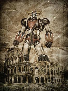 Andrea Gatti - Grendizer Colosseum vintage 2