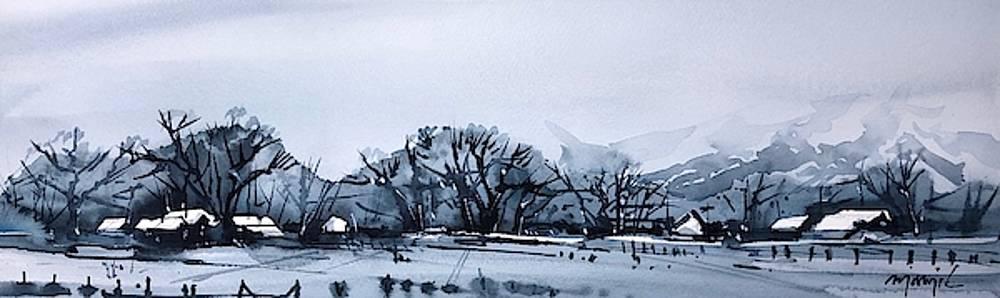 Gray Winter Day 2 by Ugljesa Janjic
