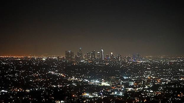 Griffith Observatory Overlook by Barkley Simpson