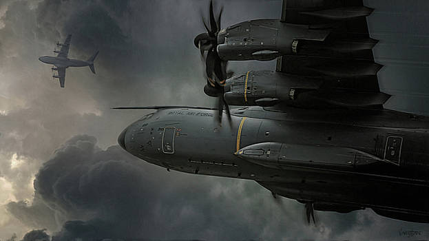 Grizzly - Airbus A400M by James Vaughan