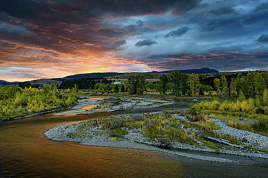 Tibor Vari - Gros Ventre River in GTNP