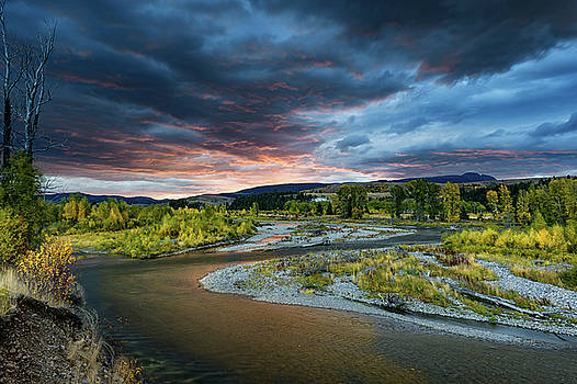 Tibor Vari - Gros Ventre River Sunrise in GTNP