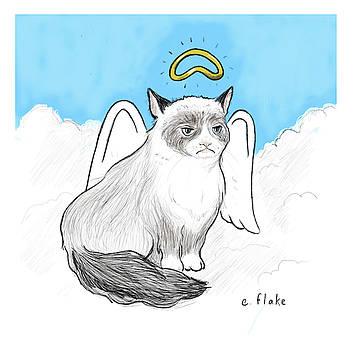 R.I.P., Grumpy Cat by Emily Flake