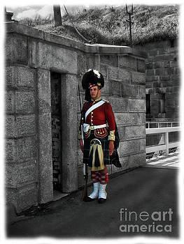 Guarding Halifax Harbour by Al Bourassa