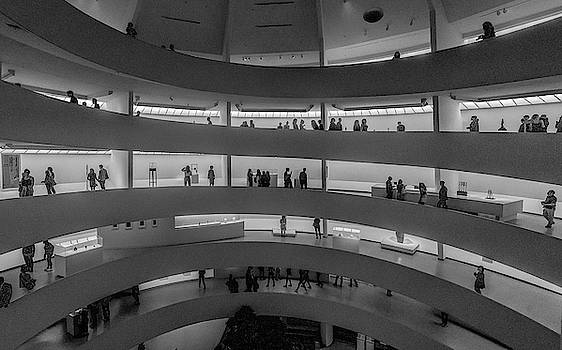 Guggenheim Museum Opening Night  by Jeffrey Friedkin