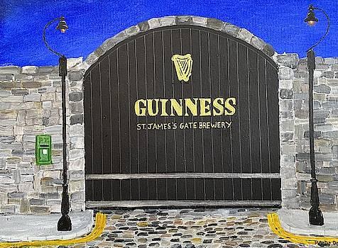 Guinness Back Gate Dublin by Martin Dardis