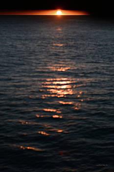 Connie Fox - Gulf of Alaska Abstract Sunset