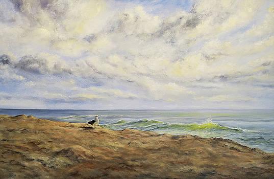 Gull Watch by Susan E Hanna
