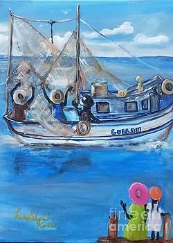 Gullah Sail- Will Return Mom by Lisa Gilyard