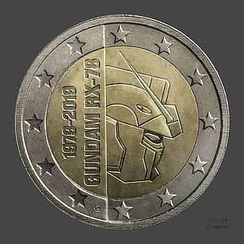 Andrea Gatti - Gundam 40 Coin dark gray
