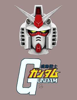 Andrea Gatti - Gundam Head Logo