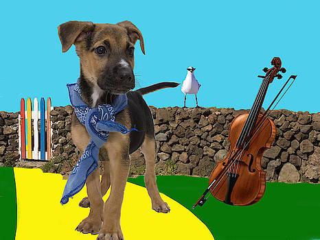 Gypsy Puppy by Nikki Attree