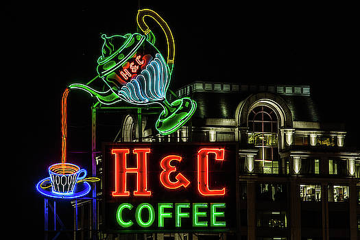 Julieta Belmont - H and C Coffee Sign Roanoke Virginia