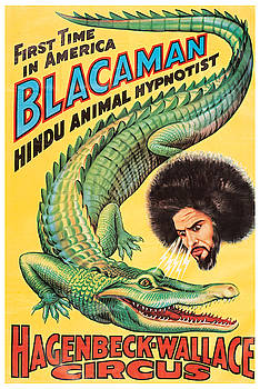 Hagenbeck-Wallace Circus - Vintage Advertising Poster by Siva Ganesh