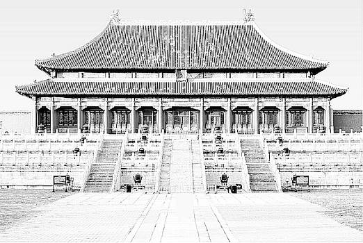 Hall of Supreme Harmony, the Forbidden City, Palace Museum, Beijing, China by Steve Clarke