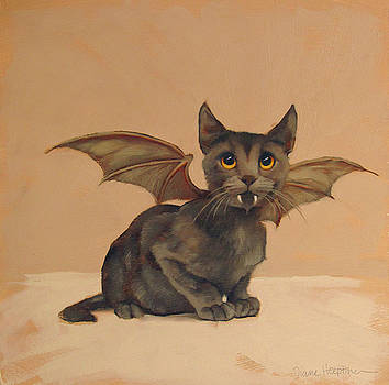 Halloween Cat by Diane Hoeptner