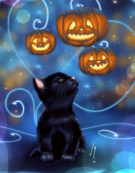 Halloween night by Veronica Minozzi
