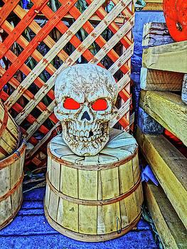 Halloween Skull by Bruce Iorio