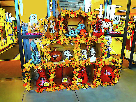 Halloween Supplies at Smith's Grocery 2 by Bruce Iorio