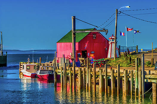 Halls Harbour Nova Scotia by David Smith