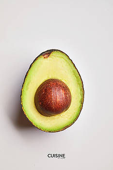 Halved Avocado  by Cuisine at Home