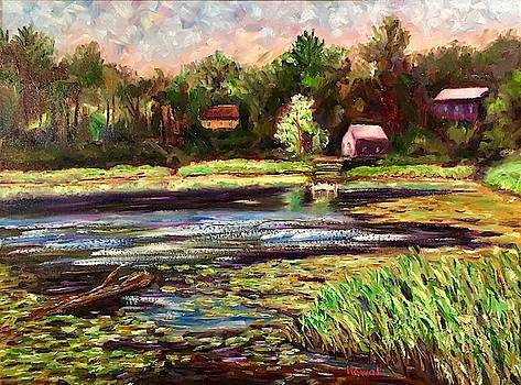 Hampton Ponds by Richard Nowak