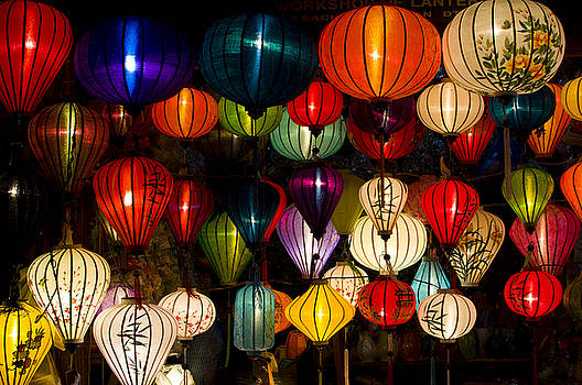 Handcrafted Lanterns In Ancient Town by Jimmy Tran
