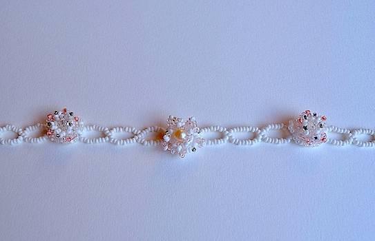 Handmade beaded necklace  by Inessa Williams