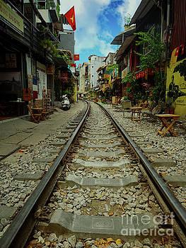 Asia Visions Photography - Hanoi Train Tracks