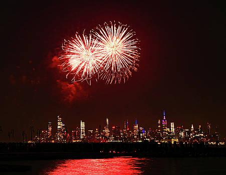 Happy Birthday America 2019 - Jersey City by Allen Beatty