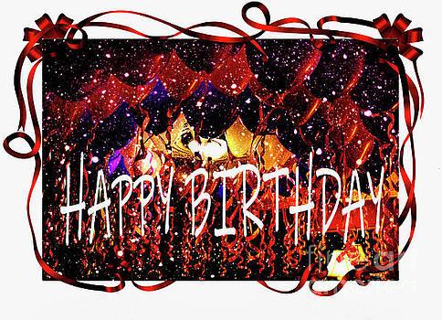 Happy Birthday Greeting by Al Bourassa