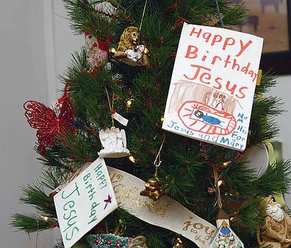 Happy Birthday Jesus by Wanda Brandon