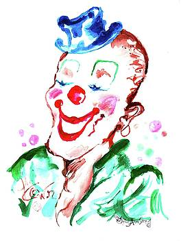 Happy Clown by Mary Armstrong